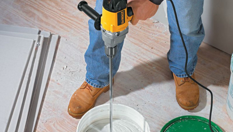 The Best Mixing Drills For Concrete Mortar Drywall Cement Etc
