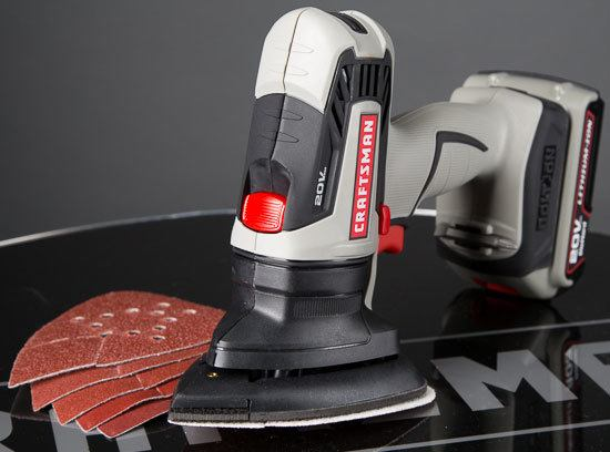 Craftsman Bolt-On Mouse-Style Sander Attachment