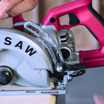 Depth Adjustment On Circular Saw