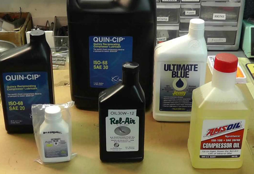 What Kind Of Oil Should I Use For My Air Compressor?