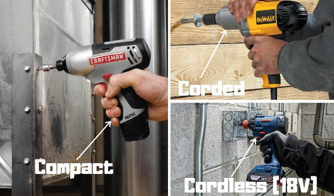 A Note On Corded Vs Cordless Impact Drivers
