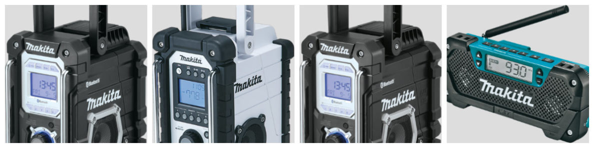 4 Of Best Makita Jobsite Radios [Comparison]