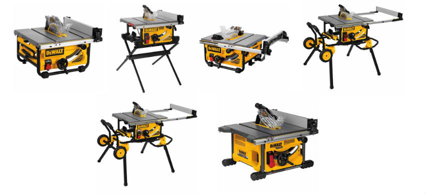 6 Of The Best Dewalt Table Saws A Thorough Comparison