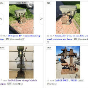 Used Drill Press Buying Guide – What To Look For?