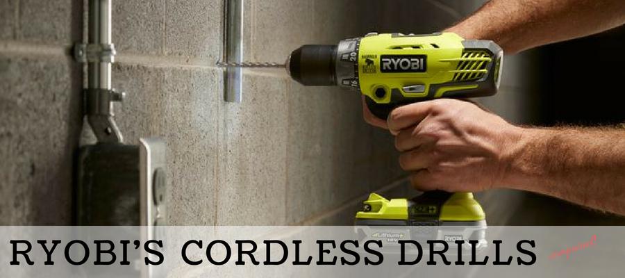 Comparing Ryobi S Cordless Drills A Detailed Comparison