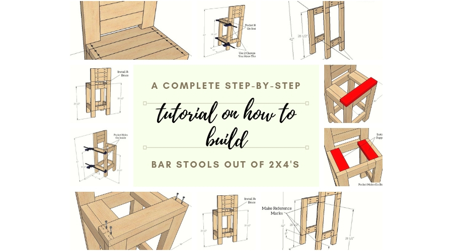 Awesome How To Build A 24 Bar Stool Uwap Interior Chair Design Uwaporg