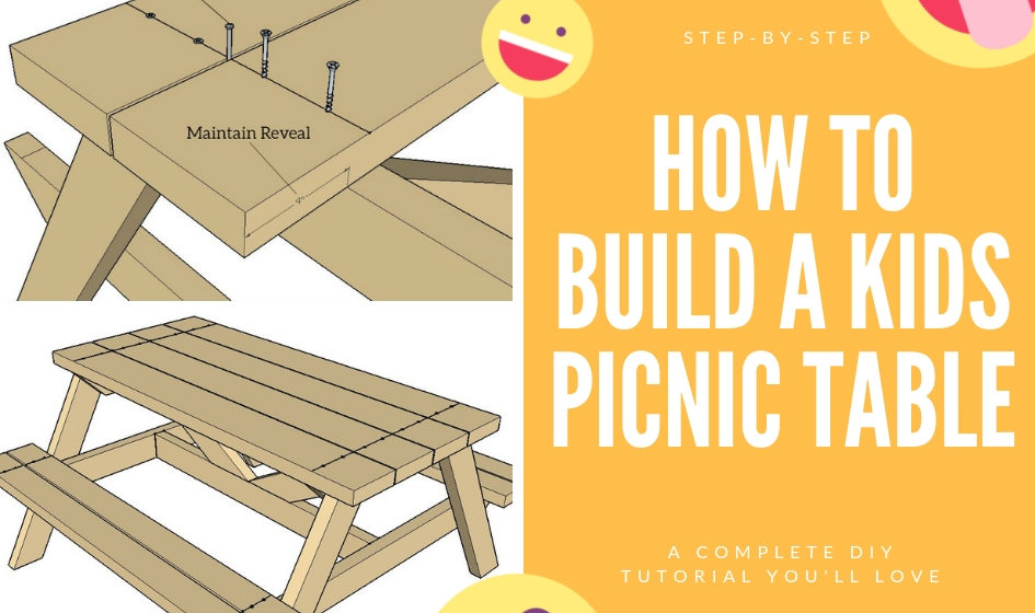 Awesome How To Build A Kids Picnic Table Step By Step Dailytribune Chair Design For Home Dailytribuneorg