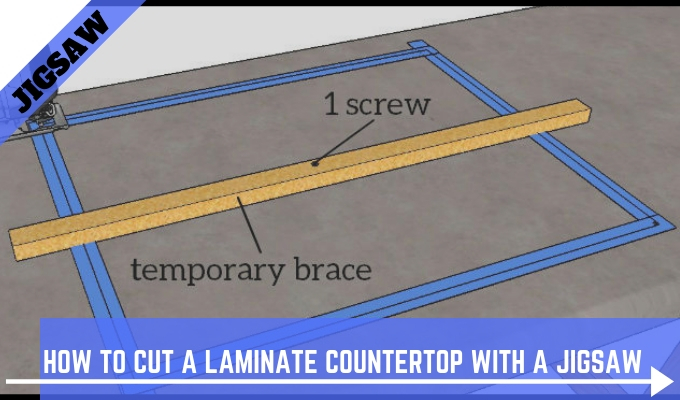 Cut A Laminate Countertop With Jigsaw