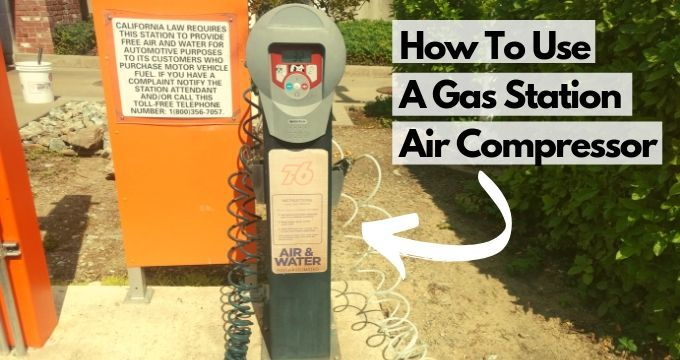 How To Use An Air Compressor At A Gas Station